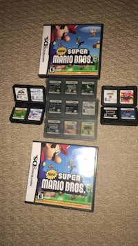 Nintendo ds/dsi games(scroll for close ups)