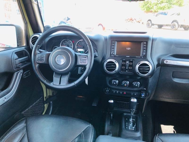 Jeep Wrangler Unlimited 2013 13