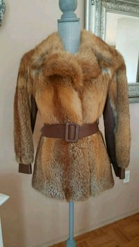 Red fox fur jacket  Toronto, M9A 4X9
