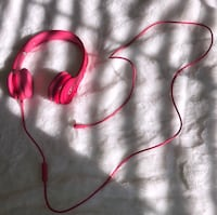 red and black corded headphones Austin, 78734