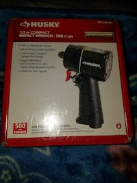 HUSKY 1/2 in. Compact Impact Wrench- 500 ft-lbs.