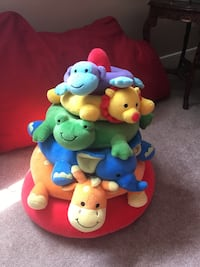 Stackable plush animal toy brand new! Virginia Beach, 23452