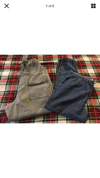 2 pair women's drawstring joggers large Ocean Springs, 39564