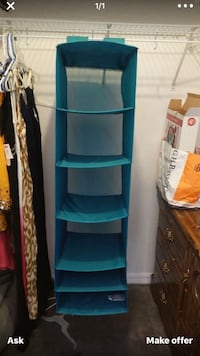 blue and white 3-layer rack Tampa, 33604