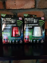 Music bullet the lil' speaker with a big sound!
