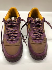 *Special Edition* AF1 Purple and Gold Inside Out- Size 8.5 Las Vegas, 89113