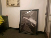 Large framed aviation picture  Middletown, 17057