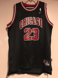 black and red Chicago Bulls 23 jersey Toronto, M1C 1V5