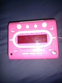 Hello kitty clock/radio/cd player Capitol Heights, 20743