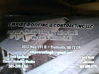 Roof repair, and or replace Jacksonville, 72076