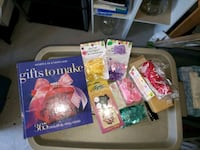 Gift making book n craft items Edmonton, T5T 0H4