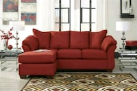 Darcy Salsa Chaise Sectional by Ashley  Missouri City, 77489