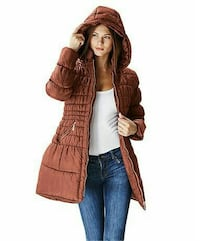 NEW Glamsia Junior Quilted Hooded size S Ottawa, K1E 3L3