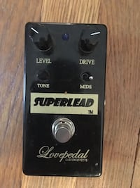 Superlead by lovepedal custom effects Morris Plains, 07950