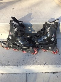 Lady size 7 rollerblades  Bowmanville, L1C 2H5