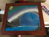 water planet painting