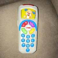 Fisher price laugh n learn remote toy Toronto, M9W 4L6