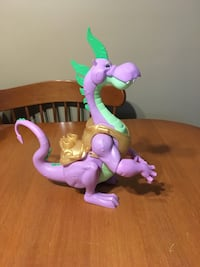 My little pony guardians of harmony large spike dragon