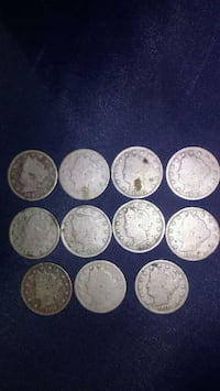 round silver-colored coin collection Greer, 29651