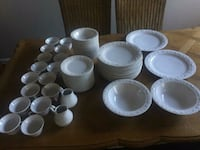 Homer Laughlin Fine China 86 piece set Chevy Chase, 20815