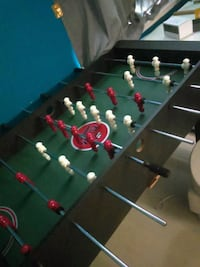 black and green foosball table Mississauga, L5H 1H3