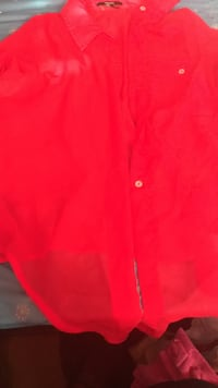 Red forever 21 sheer shirt (can tie at the bottom  Greenville, 28590