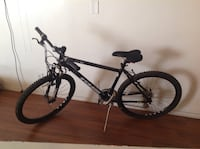 black and white hardtail mountain bike Los Angeles, 90026