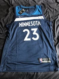 NIKE JIMMY BUTLER TWOLVES JERSEY SIZE LARGE  Raleigh, 27609