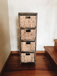 4 wicker basket drawer Bainbridge Island, 98110