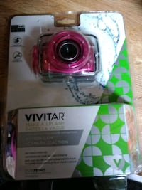 red and black Vivitar action camera in box Rossville, 30741