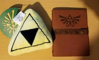 Legend of Zelda Triforce Plush and Journal Chicago, 60639