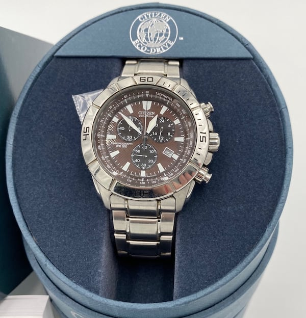 Citizen Eco-Drive Chronograph Stainless Steal 2a8933ed-924e-4170-94be-e4a90983dd02