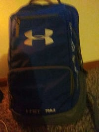 black and gray Under Armour backpack Brookville, 45309