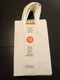 White Small Gift Bags 1 Pack (13 bags) for $6 Los Angeles, 90045