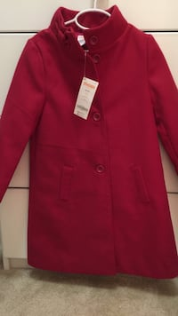 red turtle neck button up jacket San Diego, 92127