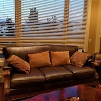 Leather Sofa Set Richmond