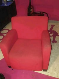Red comfy chair Calgary, T2A