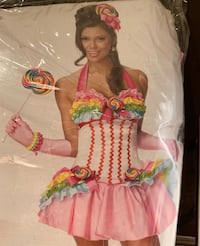 CANDY GIRL Halloween COSTUME $12 OBO Youngstown