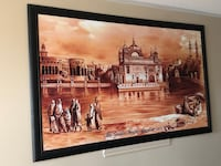 Golden temple picture custom made.  Vaughan, L4L 1A5