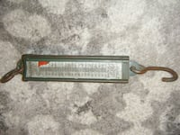 Hanson Vintage Hanging Spring Scale 100 lb capacity Huntington Station