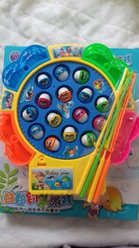 Fishing game bought on Ebay - no longer wanted. Brand new - never used. Requires battery. Collection only from Surbiton. Can post for additional P&P. £3 ono. LONDON