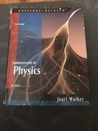 Fundamentals of Physics Jearl Walker 8th ed extended Montréal, H1R 2S4