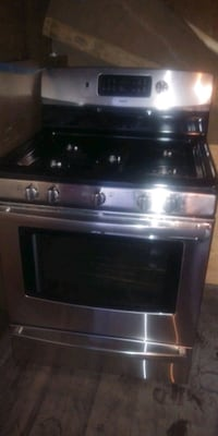black and gray gas range oven Laurel, 20707