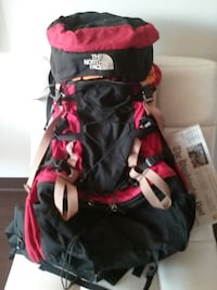 The North Face hiking pack
