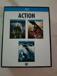 3 Blu Ray Movie Action Pack