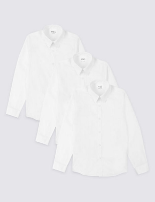 Slim fit white shirt Never used packaged M&S