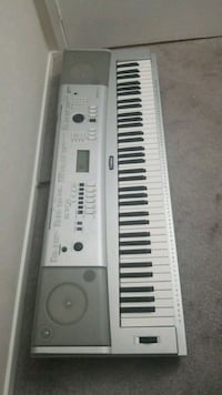 white and gray electronic keyboard Gaithersburg, 20886