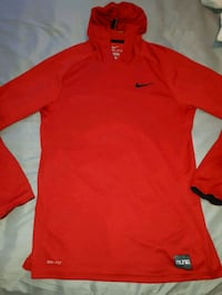 red Nike crew-neck long-sleeved shirt Edmonton, T6X 1M4