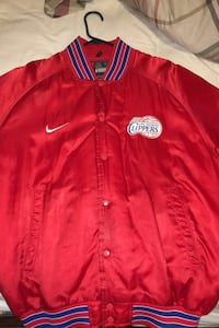 Vintage Los Angeles Clippers bomber jacket (like new)