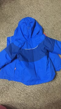 blue and black zip-up hoodie Falls Church, 22042